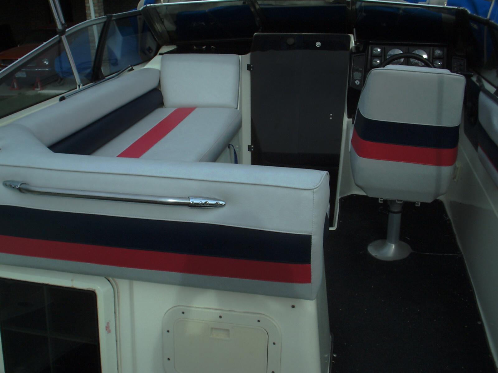 Boat Interiors Sun Decks Boat Seats Covers Canopy
